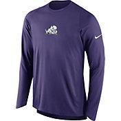 Nike Men's TCU Horned Frogs Purple ELITE Shooter Long Sleeve Shirt