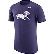 Nike Men's TCU Horned Frogs Heathered Purple Vault Tri-Blend T-Shirt