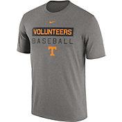 Nike Men's Tennessee Volunteers Gray Team Issue Legend Baseball T-Shirt