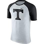 Nike Men's Tennessee Volunteers Oatmeal/Black Gridiron Grey Jersey Hook T-Shirt