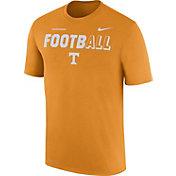 Nike Men's Tennessee Volunteers Tennessee Orange FootbALL Sideline Legend T-Shirt
