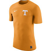 Nike Men's Tennessee Volunteers Tennessee Orange Nike Pro Hypercool Fitted Football T-Shirt