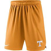 Nike Men's Tennessee Volunteers Tennessee Orange Knit Football Sideline Performance Shorts