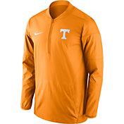 Nike Men's Tennessee Volunteers Tennessee Orange Lockdown Half-Zip Performance Jacket