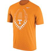 Nike Men's Tennessee Volunteers Tennessee Orange Football Icon Legend T-Shirt