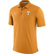 Nike Men's Tennessee Volunteers Tennessee Orange Team Issue Football Sideline Performance Polo