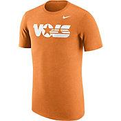 Nike Men's Tennessee Volunteers Heathered Tennessee Orange Vault Tri-Blend T-Shirt