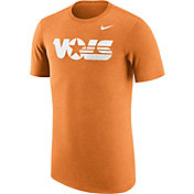 Nike Men's Tennessee Volunteers Heathered Tennessee Orange Vault Tri-Blend T-Shirt
