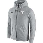 Nike Men's Tennessee Volunteers Gridiron Grey 2.0 AW77 Full-Zip Hoodie