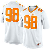 Nike Men's Tennessee Volunteers White #98 Game Football Jersey