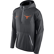 Nike Men's Texas Longhorns Anthracite Vapor Speed Fly Rush Sideline Jacket