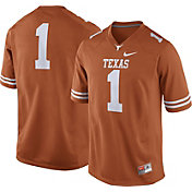 Nike Men's Texas Longhorns #1 Burnt Orange Game Football Jersey