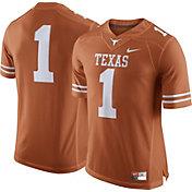 Nike Men's Texas Longhorns #1 Burnt Orange Football Limited Jersey