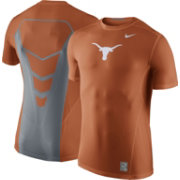 Nike Men's Texas Longhorns Burnt Orange Hypercool Fitted Performance T-Shirt