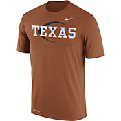Nike Men's Texas Longhorns Burnt Orange Football Icon Legend T-Shirt