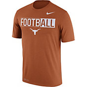 Nike Men's Texas Longhorns Burnt Orange FootbALL Legend T-Shirt