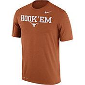 Nike Men's Texas Longhorns Burnt Orange 'Hook 'Em' Authentic Local Legend T-Shirt