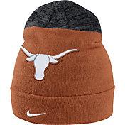 Nike Men's Texas Longhorns Burnt Orange/Grey Sideline Beanie