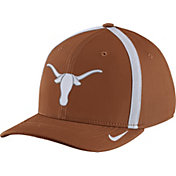 Nike Men's Texas Longhorns Burnt Orange Aerobill Swoosh Flex Classic99 Football Sideline Hat