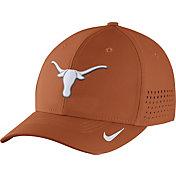 Nike Men's Texas Longhorns Burnt Orange Vapor Sideline Swoosh Flex Hat