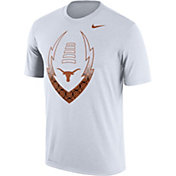 Nike Men's Texas Longhorns Football Icon Legend White T-Shirt