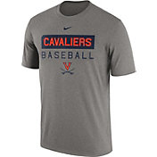 Nike Men's Virginia Cavaliers Grey Team Issue Legend Baseball T-Shirt