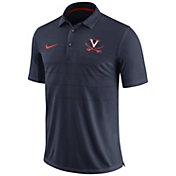 Nike Men's Virginia Cavaliers Blue Early Season Football Polo