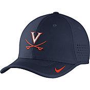 Nike Men's Virginia Cavaliers Blue Vapor Sideline Coaches Hat