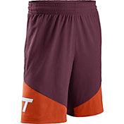 Nike Men's Virginia Tech Hokies Maroon/Burnt Orange New Classics Basketball Shorts