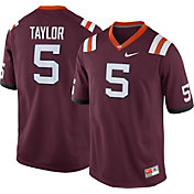 Nike Men's Tyrod Taylor Virginia Tech Hokies #5 Maroon Replica College Alumni Jersey