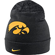 Nike Men's Iowa Hawkeyes Black/Grey Sideline Beanie