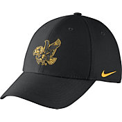 Nike Men's Iowa Hawkeyes Black Vault Dri-FIT Swoosh Flex Hat