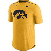 Nike Men's Iowa Hawkeyes Gold Football Player T-Shirt