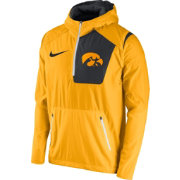 Nike Men's Iowa Hawkeyes Gold Speed Fly Rush Football Jacket