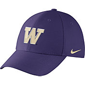 Nike Men's Washington Huskies Purple Dri-FIT Wool Swoosh Flex Hat