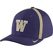Nike Men's Washington Huskies Purple Aerobill Swoosh Flex Classic99 Football Sideline Hat