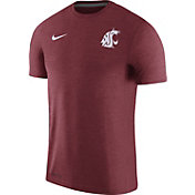 Nike Men's Washington State Cougars Crimson Coach Football T-Shirt