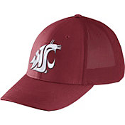 Nike Men's Washington State Cougars Crimson Legacy91 Flex Mesh Back Hat