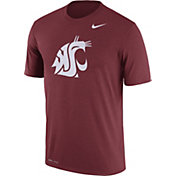 Nike Men's Washington State Cougars Crimson Logo Dry Legend T-Shirt