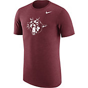 Nike Men's Washington State Cougars Heathered Crimson Vault Tri-Blend T-Shirt