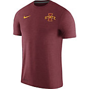 Nike Men's Iowa State Cyclones Cardinal Coach Football T-Shirt