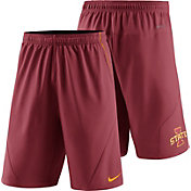 Nike Men's Iowa State Cyclones Cardinal Fly XL 5.0 Football Sideline Shorts