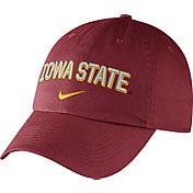 Nike Men's Iowa State Cyclones Cardinal Heritage86 Wordmark Swoosh Flex Hat