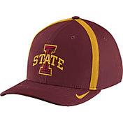 Nike Men's Iowa State Cyclones Cardinal Aerobill Swoosh Flex Classic99 Football Sideline Hat