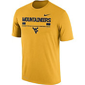 Nike Men's West Virginia Mountaineers Gold Football Staff Legend T-Shirt