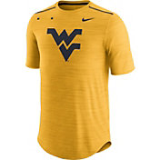 Nike Men's West Virginia Mountaineers Gold Football Player T-Shirt
