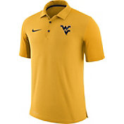 Nike Men's West Virginia Mountaineers Gold Team Issue Football Sideline Performance Polo