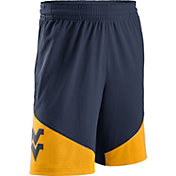 Nike Men's West Virginia Mountaineers Blue/Gold New Classics ELITE Basketball Shorts
