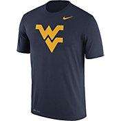 Nike Men's West Virginia Mountaineers Blue Logo Dry Legend T-Shirt