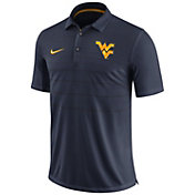 Nike Men's West Virginia Mountaineers Blue Early Season Football Polo